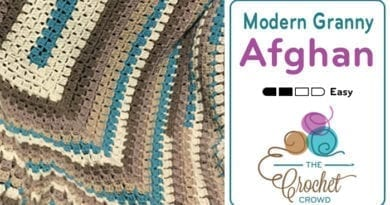 Crochet Modern Rectangle Granny by Jeanne Steinhilber