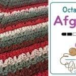 Crochet Earthly Tones Octagonal Afghan