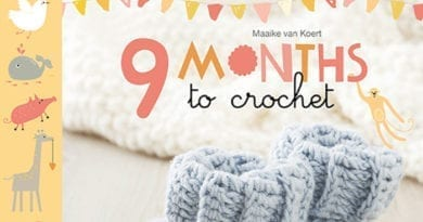 Book Review: 9 Months to Crochet by Maaike van Koert