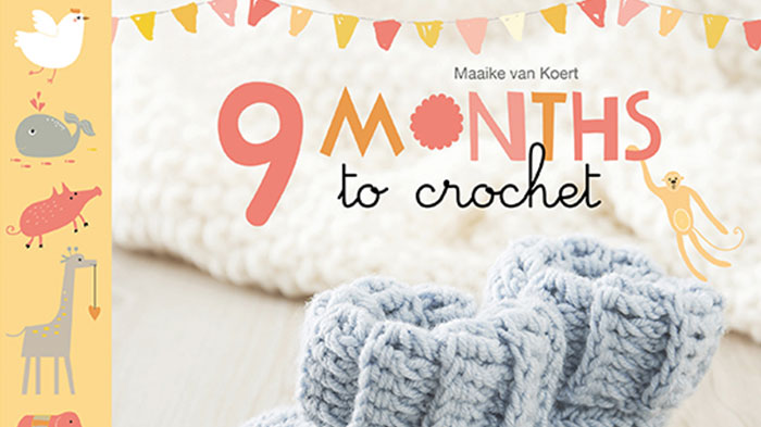 Book Review: 9 Months to Crochet by Maaike van Koert