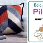 Crochet Bold Angles Pillow + Tutorial
