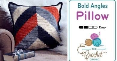 Crochet Bold Angles Pillow + Tutorial