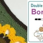 Beyond Borders: Double Crochet Borders + Tutorial