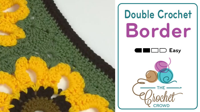 Beyond Borders: Double Crochet Border