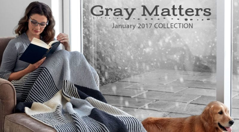 Gray Matters Lookbook by Yarnspirations
