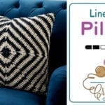 Crochet Line Up! Pillow Pattern + Tutorial