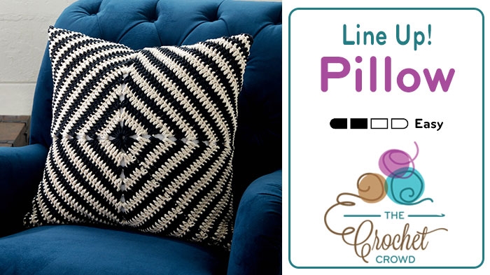 Crochet Line Up! Pillow Pattern