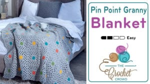 Crochet Pin Point Granny Afghan Pattern