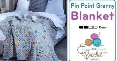 Crochet Pin Point Granny Afghan Pattern