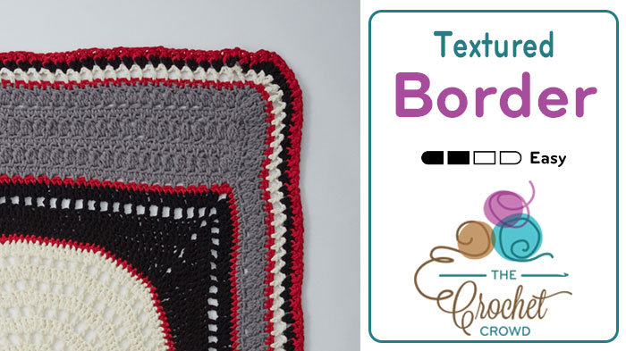 Crochet Textured Border