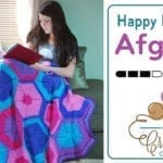 Crochet Happy Hexagon Afghan Pattern