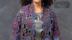 Crochet Circular Motif Shawl