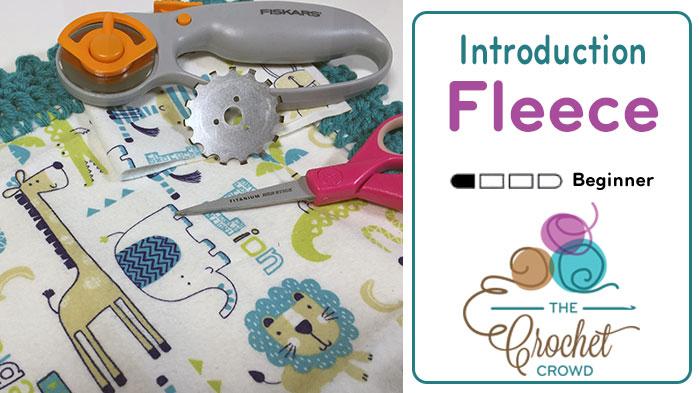 Crochet Fleece & Fabric Quilts Pattern