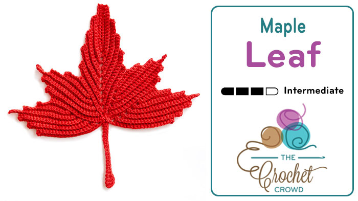Crochet Maple Leaf | The Crochet Crowd