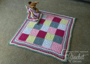 Crochet Modern Baby Granny Blanket by Jeanne Steinhilber