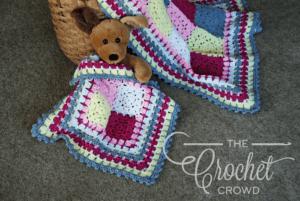 Crochet Modern Baby Lovey by Jeanne Steinhilber
