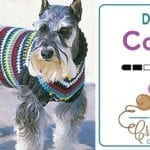Crochet Dog Coat + Tutorial