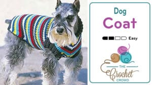 Crochet Dog Coat Pattern