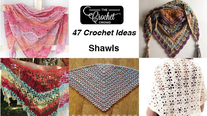 47 Crochet Prayer Shawls + Some Tutorials | The Crochet Crowd