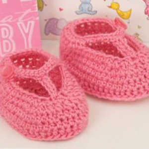 T-Strap Baby Booties