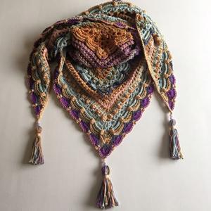 Crochet Pattern Lost In Time : 47 Crochet Prayer Shawls + Some Tutorials - The Crochet Crowd