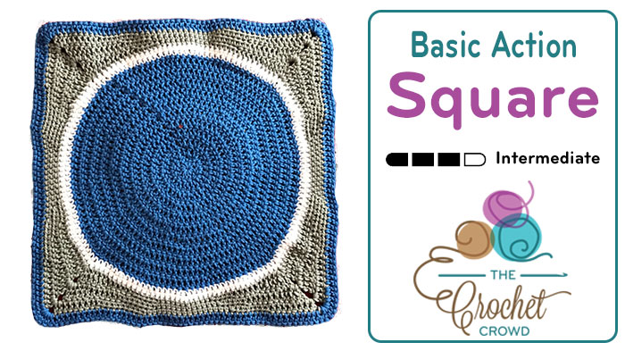 Crochet Action Packed Square Basic