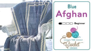 Crochet Blue Afghan