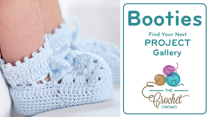 Crochet Booties Project Gallery