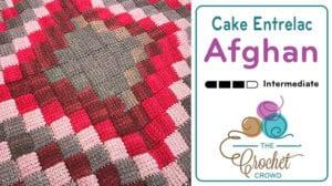 Crochet Caron Cakes Entrelac