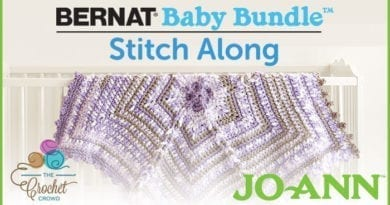 Bernat Baby Bundle Stitch Along with Jo-Ann