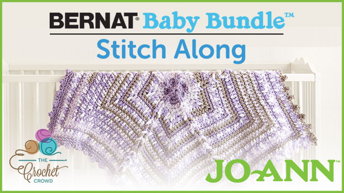 Jo-Ann Stitch Along with Bernat Baby Bundle Yarn