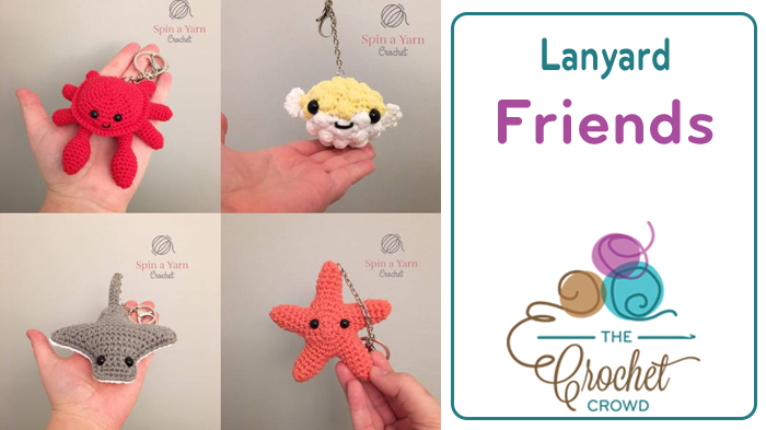 Crochet Miniature Sea Creatures Pattern