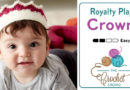 Crochet Baby Crown + Tutorial