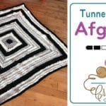 Crochet Tunnel Vision Afghan + Tutorial