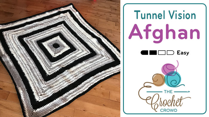 Crochet Tunnel Vision Afghan