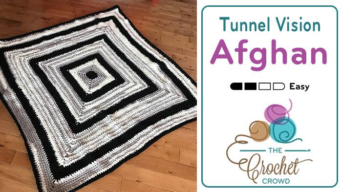 Crochet Tunnel Vision Afghan Pattern