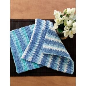 Crochet Simple Dishcloth