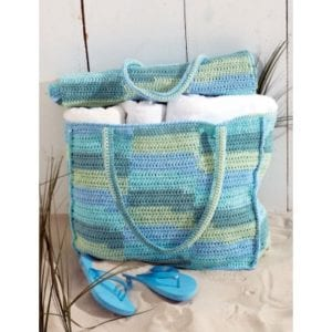 Crochet Beach Bag and Mat