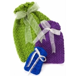 Crochet Party Gift Bags