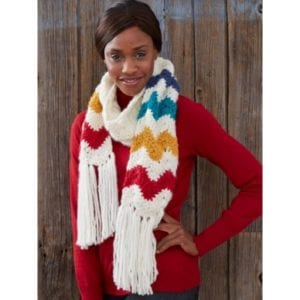 Mountain Peak Scarf