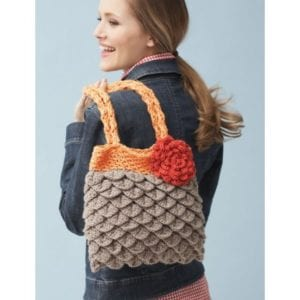 Crochet Mermaid Tears Purse