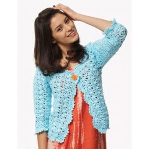 Crochet on the Lace Cardigan