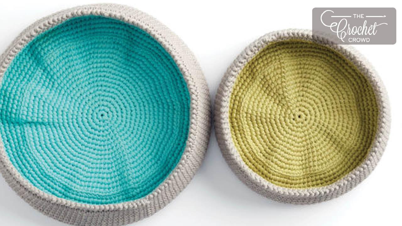 Crochet Basket Projects