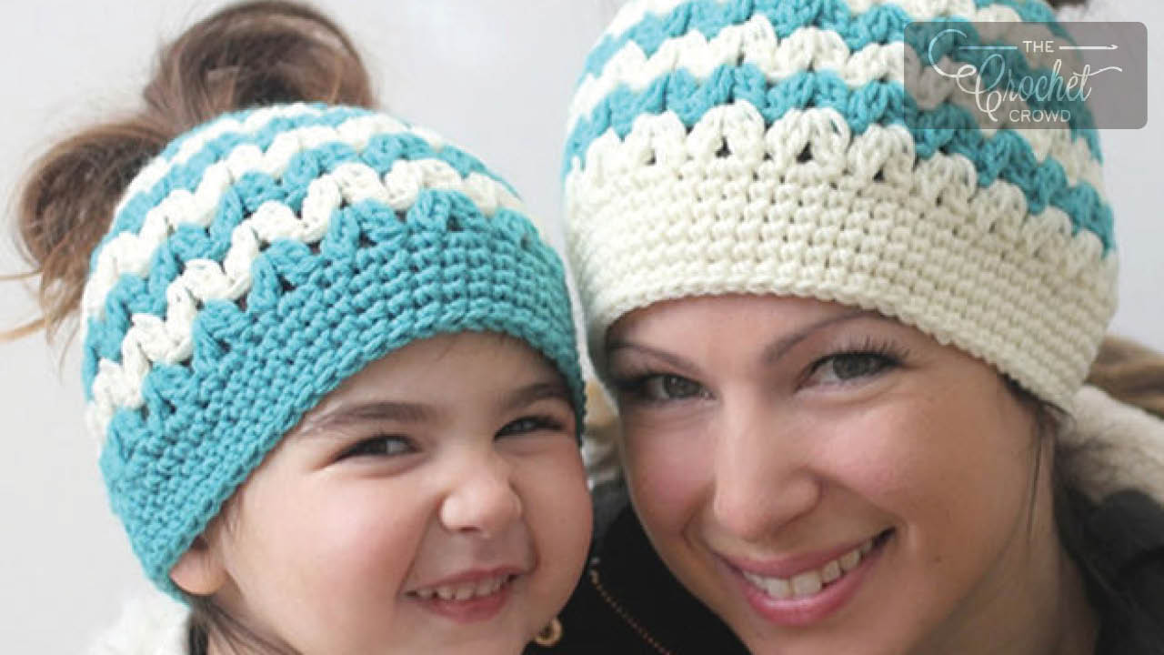 Crochet Bun Hat Ideas