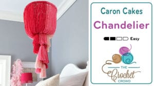 Caron Cakes Chandelier Craft Project by Michaels