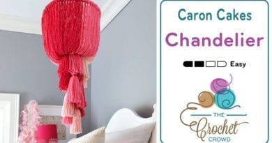Caron Cakes Chandelier Ceiling Hanging Craft Project