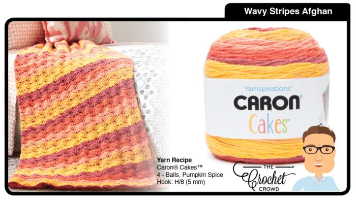 Caron Cakes - Pumpkin Spice Afghan