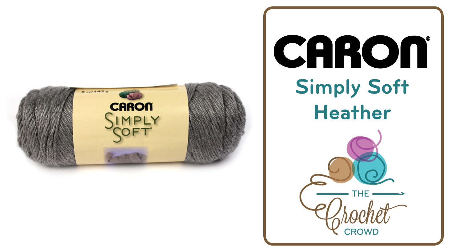 Caron Simply Soft Heather