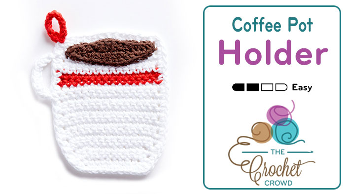 Crochet Coffee Mug Pot Holder + Tutorial