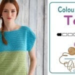 Crochet Color Block Top + Tutorial
